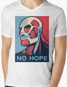 No Hope on Titan Mens V-Neck T-Shirt