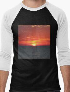 The Falling Sun Men's Baseball ¾ T-Shirt