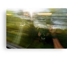 High Speed Train Travel Canvas Print