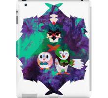 Rowlet Evolutions Pokemon V2 iPad Case/Skin