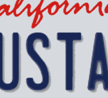 Anustart License Plate Sticker