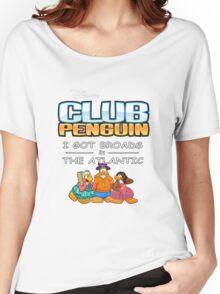 Club Penguin Panda / Broads in Atlanta  Women's Relaxed Fit T-Shirt