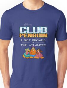 Club Penguin Panda / Broads in Atlanta  Unisex T-Shirt