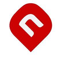 NAiA Logo - Dark Red by NAiAcrypto