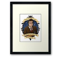 10th Doctor - Doctor Who Framed Print