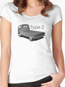 TYPE 2 - Kombi Women's Fitted Scoop T-Shirt