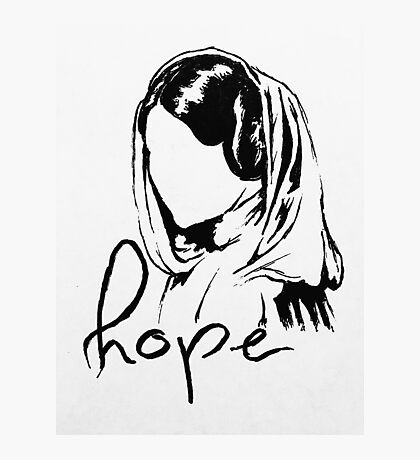 "Princess Leia ""hope"" Photographic Print"