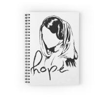 "Princess Leia ""hope"" Spiral Notebook"
