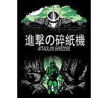 Attack on Shredder (Leo) Photographic Print