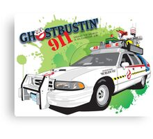 Ghostbustin' 911 Canvas Print