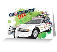 Ghostbustin' 911 Greeting Card