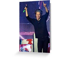 Harry Styles- tongue Greeting Card