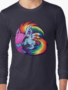 Double rainbow power Long Sleeve T-Shirt