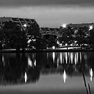Lake Ginninderra in Canberra/Australia before Sunrise (1) by Wolf Sverak