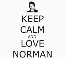 Keep Calm and Love Norman Kids Clothes