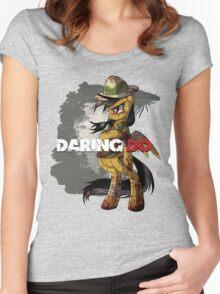 Daring Survivor Women's Fitted Scoop T-Shirt