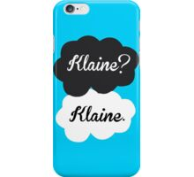 Klaine? Klaine iPhone Case/Skin