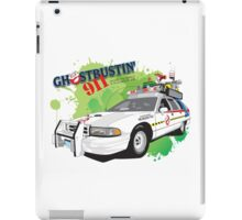 Ghostbustin' 911 iPad Case/Skin