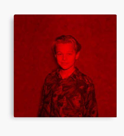 Leonardo Dicaprio - Celebrity (Cute Child Pose) (Square) Canvas Print