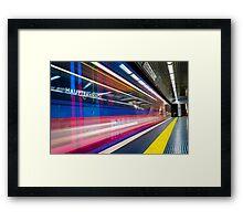 U-Bahn -- Germany Framed Print