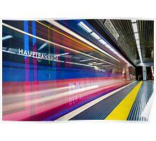 U-Bahn -- Germany Poster