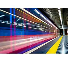 U-Bahn -- Germany Photographic Print