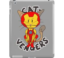 Iron Cat iPad Case/Skin