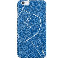 Brussels, Belgium Map iPhone Case/Skin