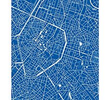 Brussels, Belgium Map by CartoCreative