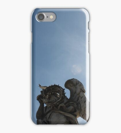 Angel Statue of Rome iPhone Case/Skin