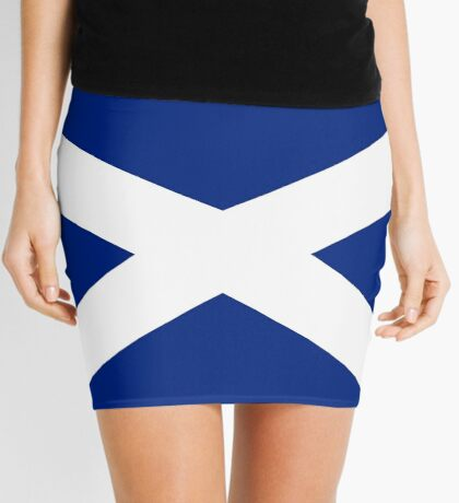 Scottish Flag Dress Skirt Mini Skirt