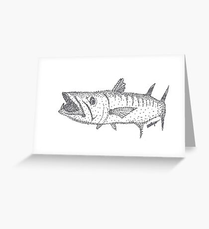 Barracuda Greeting Card