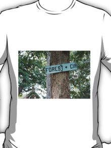 Forest Circle. T-Shirt