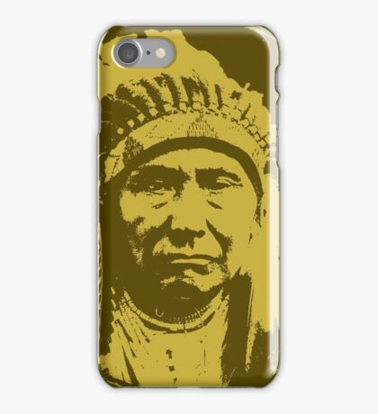 Vintage Native American Chief iPhone Case/Skin