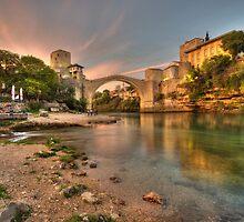 Stari Most  by Rob Hawkins
