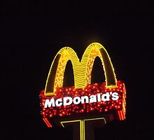 McDonalds in Lights by tiffanyporter