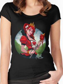 The Queen of Hearts Women's Fitted Scoop T-Shirt