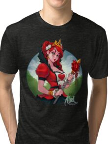 The Queen of Hearts Tri-blend T-Shirt