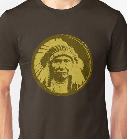 Vintage Native American Chief Unisex T-Shirt