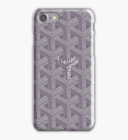 Goyard Grey iPhone Case/Skin