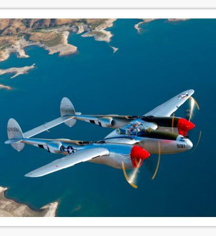 P-38 Lightning Sticker