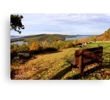 Enfield Overlook ~ at The Quabbin Canvas Print