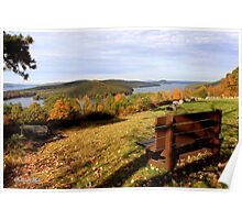 Enfield Overlook ~ at The Quabbin Poster