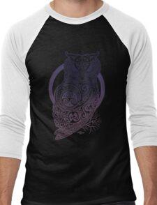 Celtic Owl Men's Baseball ¾ T-Shirt