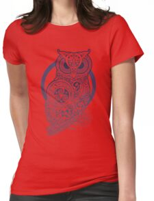 Celtic Owl Womens Fitted T-Shirt