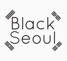 Black Seoul 2 Kids Clothes