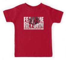 Fear The Return - Ronda Rousey (Original Artwork) Kids Tee
