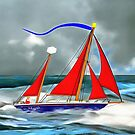 A Perfect Day For a Sail by Dennis Melling