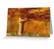 Autumnal Dream Greeting Card
