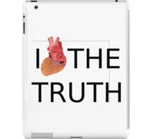 I love (heart) the TRUTH iPad Case/Skin